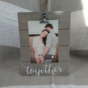Together Love Family Clip Frame Wall Tabl Art Wood